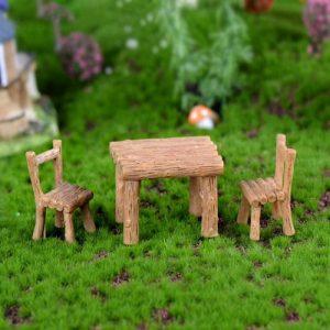 bộ bàn ghế trang trí