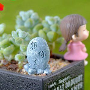 Đá khắc chữ mini