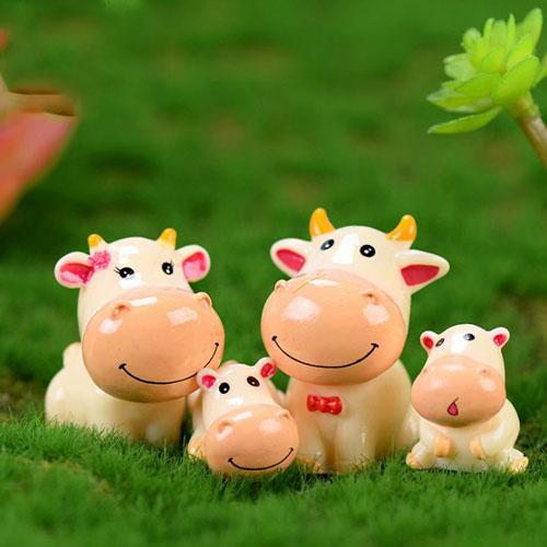 Bộ sưu tập gia đình bò dễ thương