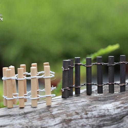 Hàng rào bằng tre