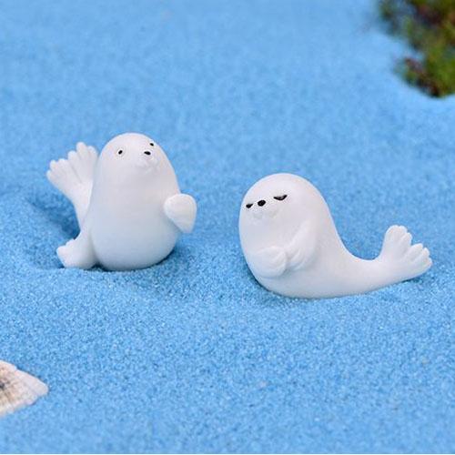 Con hải cầu màu trắng